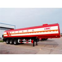 Quality CIMC edible diesel fuel oil  semi trailer fuel tank trailer fuel tank vehicle for sale
