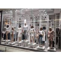 Quality Whole Clothing Store Display Fixtures With Display Stands , Racks , Mannequins for sale