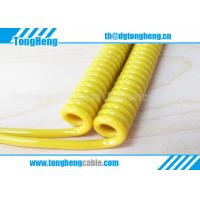 Quality Special Vehicle Designated Coiled Spiral Cable for sale
