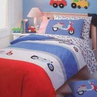 Quality Printed Babies Bedding Set, Includes Duvet Cover, Flat Sheet, Fitted Sheet and Pillow Cover for sale