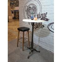 Quality Bar Table legs Cast Iron Table base  Designer Furniture Powder Coat Rusty Finish for sale