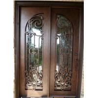 Quality Wrought Iron Entry Door Designs For House home exterior doors for sale