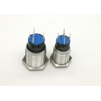 Quality Durable 19mm SS304 PBT Panel Mount Push Button Switch for sale
