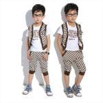 Quality free sample frock suit nova baby wear kids khaki pants wholesale clothing for sale
