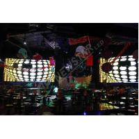 Quality HD P5.21 RGB Slim Indoor SMD LED Display Boards , Soft Led Curtain Screen for sale