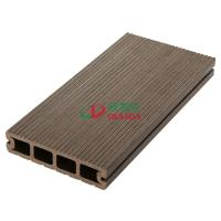 Anti - UV Composite Wood Decking , Synthetic Wood Deck 140 * 32mm Environmental Friendly