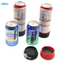 Quality Silicone Band Fixation Plastic Ice Chill Puck Cooler Mini Cold Packs For Beer Can Cooling for sale