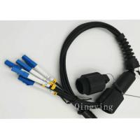 Quality PDLC 2 / 4 / 6 Cores Fiber Optic Outdoor Cable Insertion Loss < 0.3dB for sale