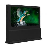 Quality Floor Standing Interactive Touch Screen Kiosk With Air Conditioner for sale