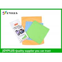 China Smart Phone Touch Screen Cleaning Cloth , Microfiber Lens Cleaning Cloth on sale