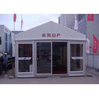 Quality Customized Outdoor Event Tents UV Resistant / Fire Retardant With Glass Door for sale