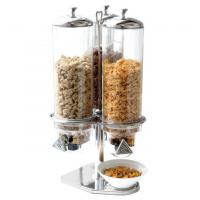 Quality Cereal Dispenser Commercial Buffet Equipment Dry Food Container 3 Head for sale