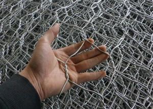 Quality 0.3mm Dia Chicken Iron Galvanized Hexagonal Wire Mesh 2m Width for sale
