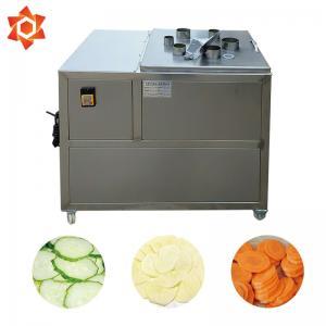 Quality Adjustable Thickness Vegetable Processor Machine Vegetable Slicer Dicer for sale