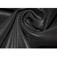 Quality 0.7 Mm Waterproof Suede Leather Fabric Abrasion Resistant For Garments for sale