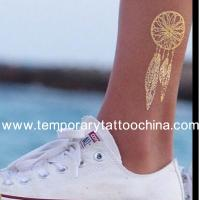 Quality Holiday Decoration Totem Design Gold and Silver Flash Tattoo for sale