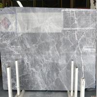Buy cheap DORA grey cloud Grey gray gris/blue Natural Marble Tile and slab For Flooring from wholesalers