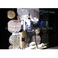 Quality Store Decorative Resin Coin Retro Style Window Display Customized Decorations for sale