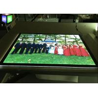Quality One Side Slim Acrylic LED Light Box Display Indoor Magnetic Frame Edge Lit for sale