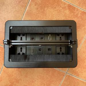 Buy cheap Multi - Function Power Data Integration Socket / Desktop Flip Data Junction Box from wholesalers