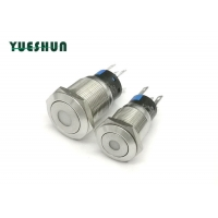 Quality Surface Mount 16mm DPDT 1NO1NC Led Push Button Switch for sale