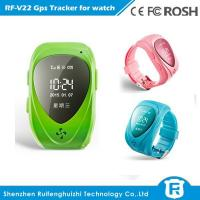 Quality Smallest water proof gps wrist watch reachfar rf-v22 with 2 way voice phone call for sale