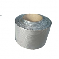 Quality self adhesive butyl tape Free Sample waterproof Aluminum Foil Butyl Rubber Tape for sale
