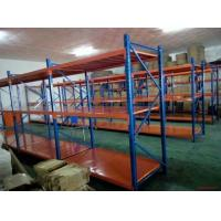Quality Selective Mold Steel Shelving Warehouse Storage Shelves With Steel Plate for sale