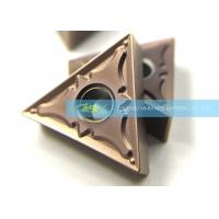 Quality Triangle TNMG160404PM CNC Carbide Inserts For Steel Semi Finishing Turning for sale