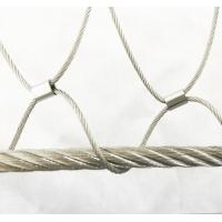 China Stainless Steel Wire Rope Mesh For Cable Mesh Zoo Fence / Plant Climbing Forest Net on sale