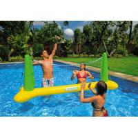 Quality Inflatable Sports Games Mini Inflatable Volleyball Field For Aqua Park for sale
