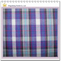 Quality 100 Cotton Yarn Dyed Colorful Checks Fabric for sale