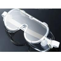 Quality PVC / PC Anti Fog Protective Goggles Water Resistant Eyeglasses Wearable for sale