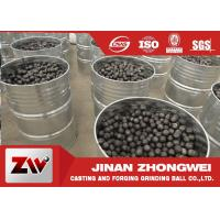 Buy cheap High Chrome Cr 10% Cast Iron 17mm Grinding Steel Ball from wholesalers