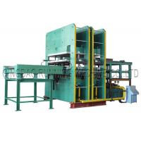 Quality Rubber Hydraulic Molding Vulcanizing Machine With Automatic Mold Sliding For Making Condenser Seal for sale