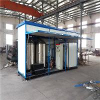 China Two Soap Tanks Emulsion Mixer Machine , Conduction Oil Heating Asphalt Batch Mix Plant on sale