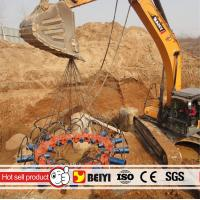 Quality Excavator used hydraulic pile head breaker round pile cutter China hydraulic concrete pile cutter for sale