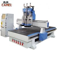 Quality CA-1325 Professional cnc wood funiture 1325 /three pneumatic spindle cnc router for sale