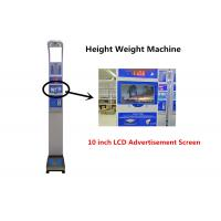 Quality Bluetooth Connect Coin Operated Weighing Scales With Height Measurement for sale