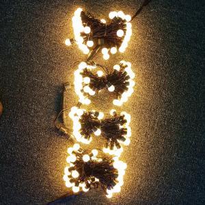 Quality led string ball lights for sale