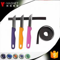 3M adhesive lamintaed magnetic material soft strong rubber 3M adhesive magnetic