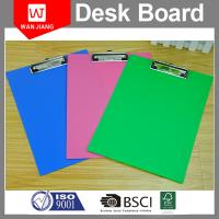 China China professional factory OEM office stationery Metal PP plastic clip board on sale