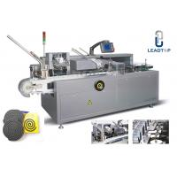China Mosquito Coil Packing Automatic Cartoning Machine Servo Motor System on sale
