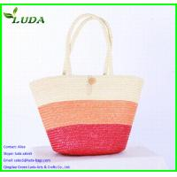 Quality fashionable wheat straw bags for LDWS-69 for sale