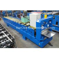 Quality High Grade Single Color Steel Roofing Sheet Making Machine / Roll Forming Equipment for sale