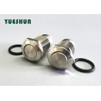 "Quality IP65 1NO 1/2"" 12mm Stainless Steel Anti Vandal Push Button Switch for sale"
