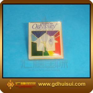 Quality cheap custom iron flashing pin/badge for sale