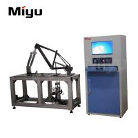 China Lab Bicycle Testing Machine Frame Brake Vertical Horizontal Fatigue Test With Sound on sale