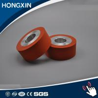 Quality High temperature hot stamping laminating silicone rubber roller for sale