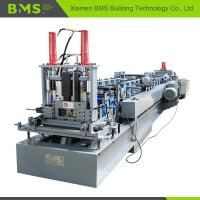 Quality C Section Purlin Cold Roll Forming Machine / Metal Forming Machine 12-15m/min for sale